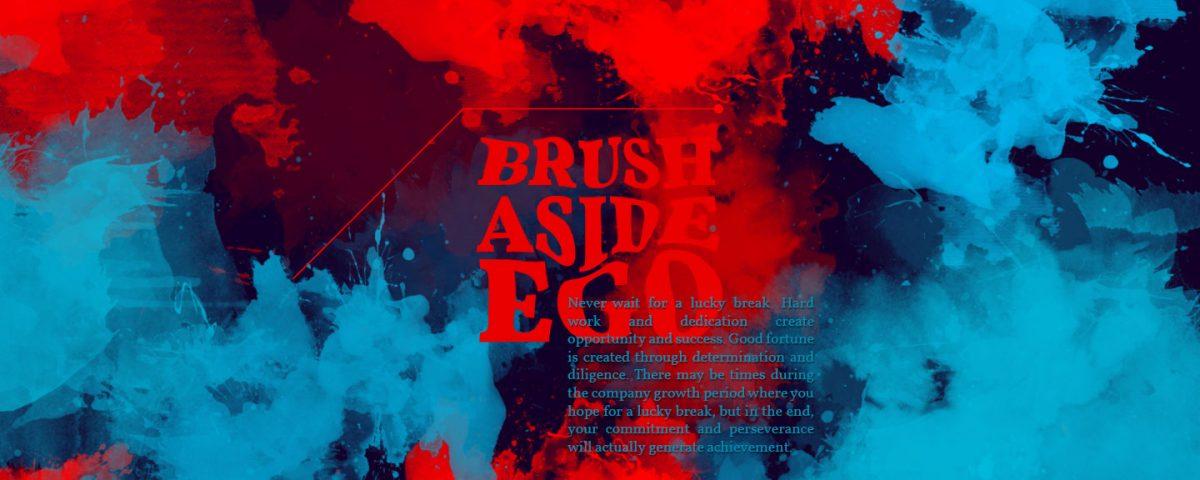 brush-aside-your-ego