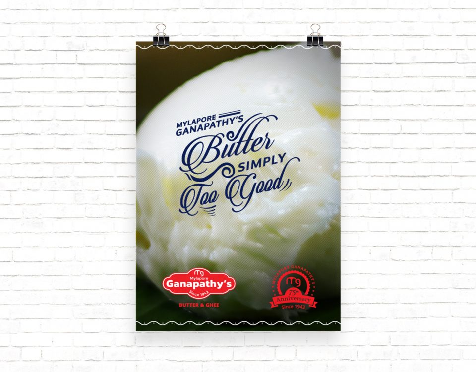 Typography - Butter Too Good